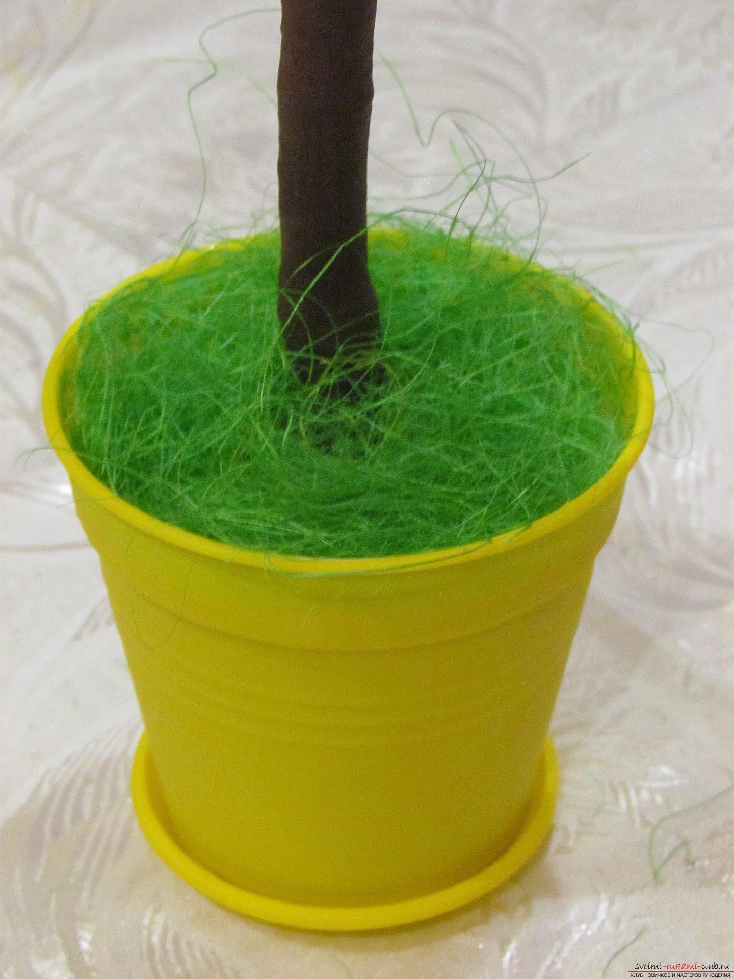 Трава для поделки своими руками фото