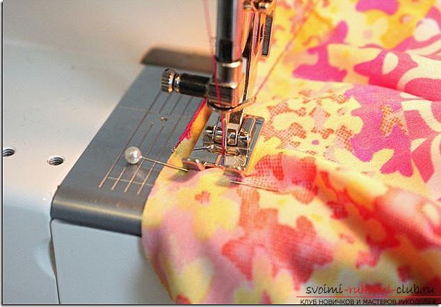Легкая выкройка и пошив платья для девочки пяти лет. Фото №1