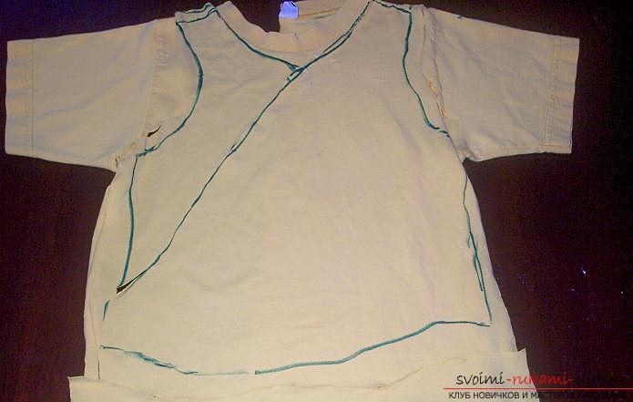 Легкая выкройка и пошив платья для девочки пяти лет. Фото №5
