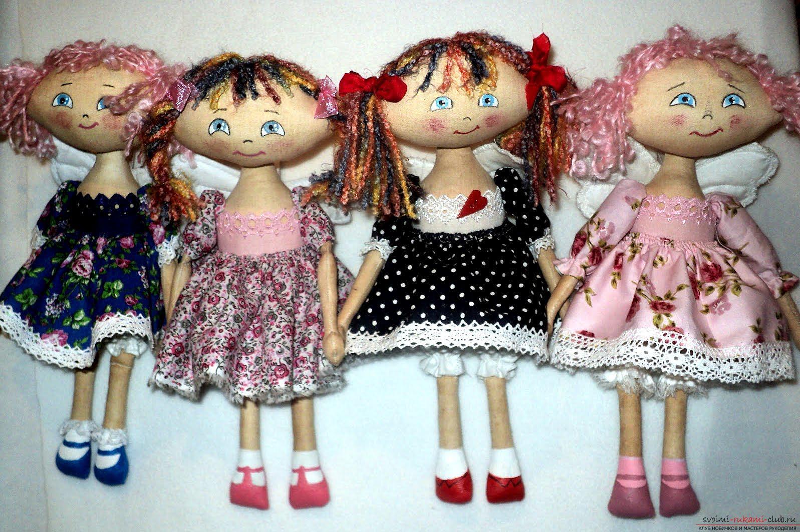 Простые выкройки куколок-примитивов. Фото №1