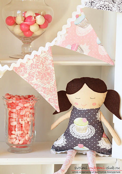 Простые выкройки куколок-примитивов. Фото №2