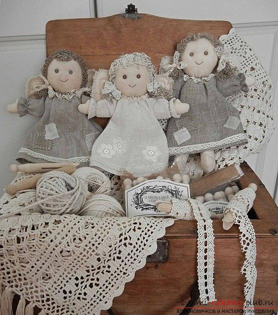 Простые выкройки куколок-примитивов. Фото №7