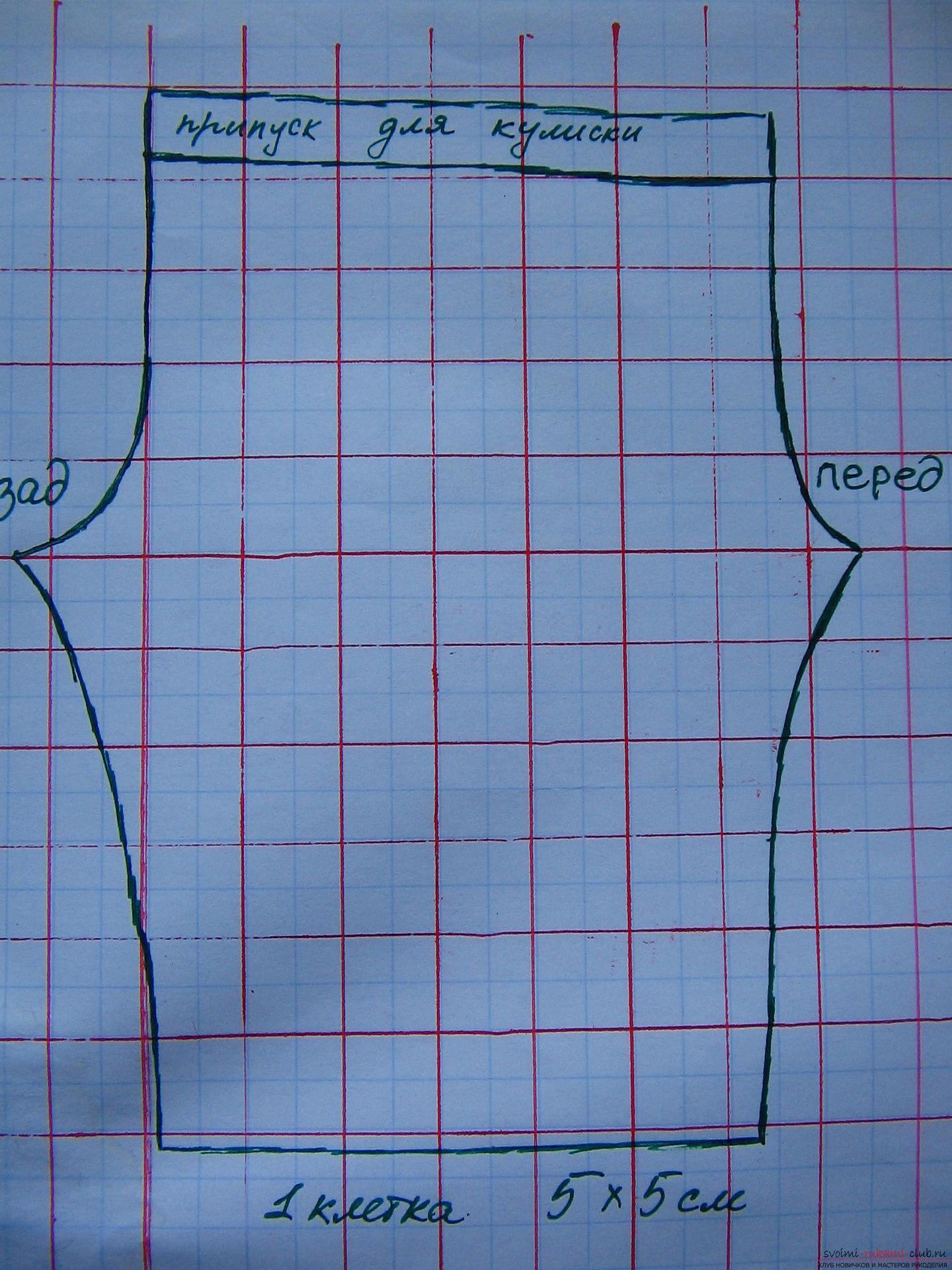 как построить выкройку спортивных женских брюк на резинке