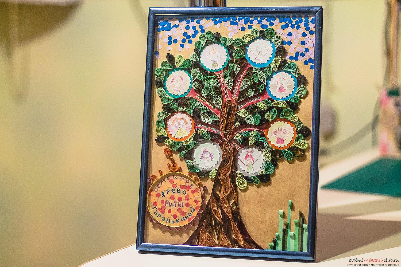 Как можно оформить фамильное (семейное) дерево своими 75
