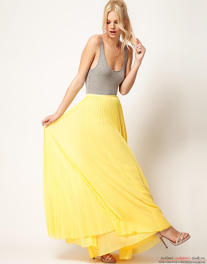 Как сшить летняя легкая юбка
