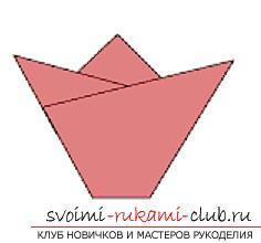 Создание поделок из бумаги своим руками в технике оригами для детей 5 лет.. Фото №6