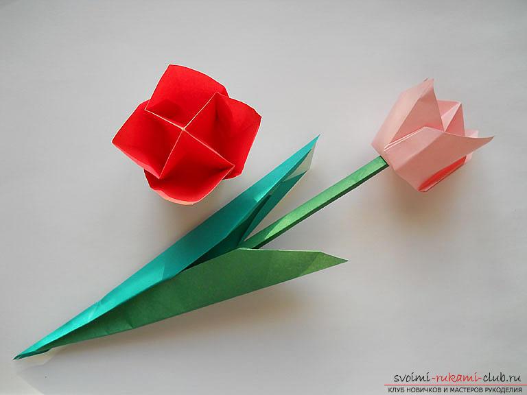 Красивое оригами своими руками