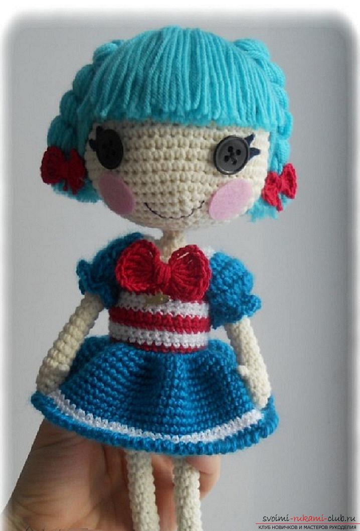 Как связать красивую куколку