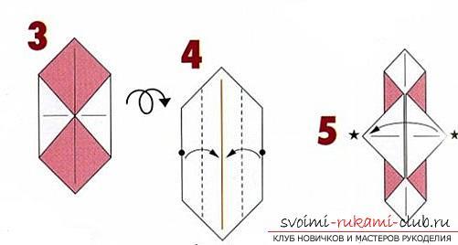 Как создать своими руками поделку в технике оригами для детей возрастом 9 лет.. Фото №3