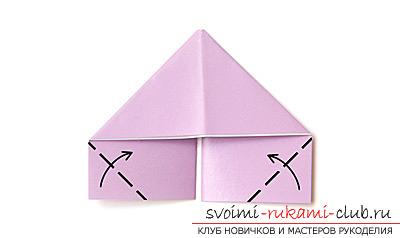 Как сделать лебедя оригами при помощи бумаги. своими руками и бесплатно.. Фото №6