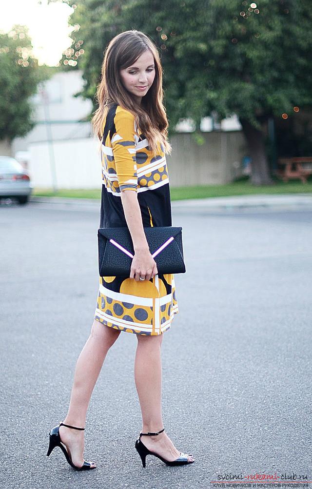 Изготовление прямого летнего платья без выкройки своими руками по инструкции и фото