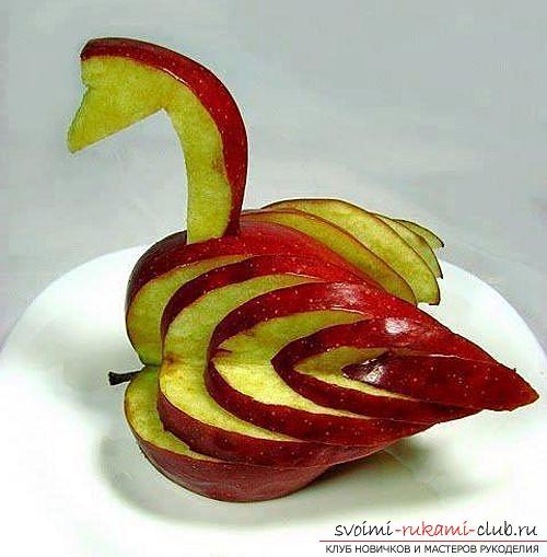 Объемное яблоко из бумаги: пошаговый обзор Поделки и аппликации для детей