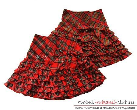 фотопримеры юбок для девочек. Фото №1