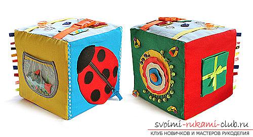 Игрушки для малышей, сделанные своими руками. Разнообразные фото и идеи игрушек.. Фото №3