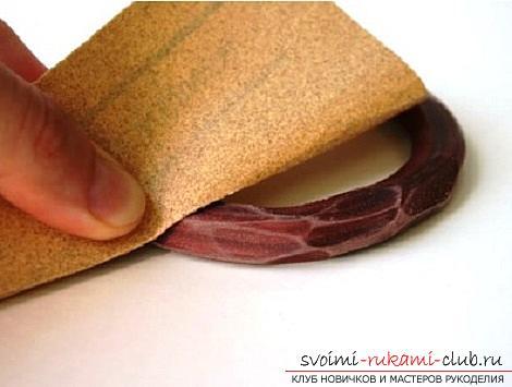 Как создать браслет из полимерной глины своими руками, мастер класс с фото.. Фото №5