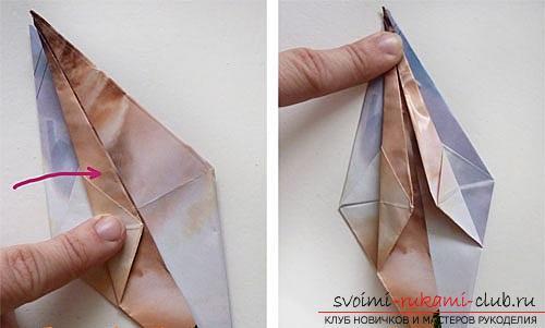 Как создать своими руками поделку в технике оригами для детей возрастом 9 лет.. Фото №21