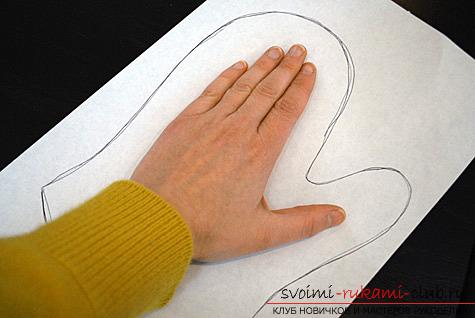 фото инструкция по пошиву варежек-прихваток для кухни своими руками. Фото №1