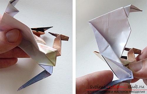 Как создать своими руками поделку в технике оригами для детей возрастом 9 лет.. Фото №32