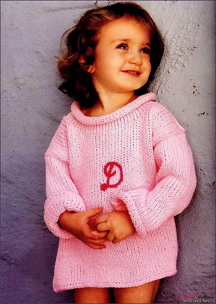 детская кофта спицами. Фото №3
