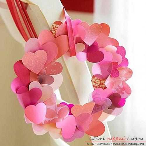 валентинки из бумаги. Фото №6