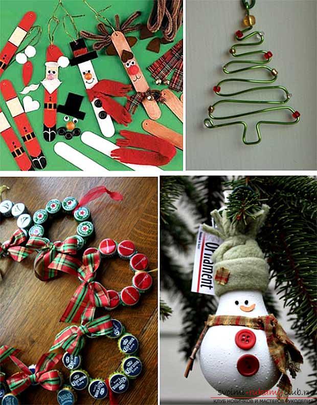 Сделать новогоднюю игрушку своими руками на конкурс: идеи для новичков и мастеров со стажем. Фото №9