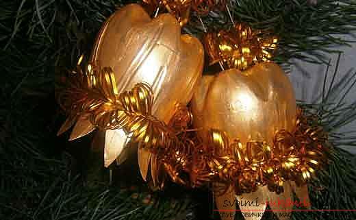 Игрушка на новогоднюю елку своими руками из