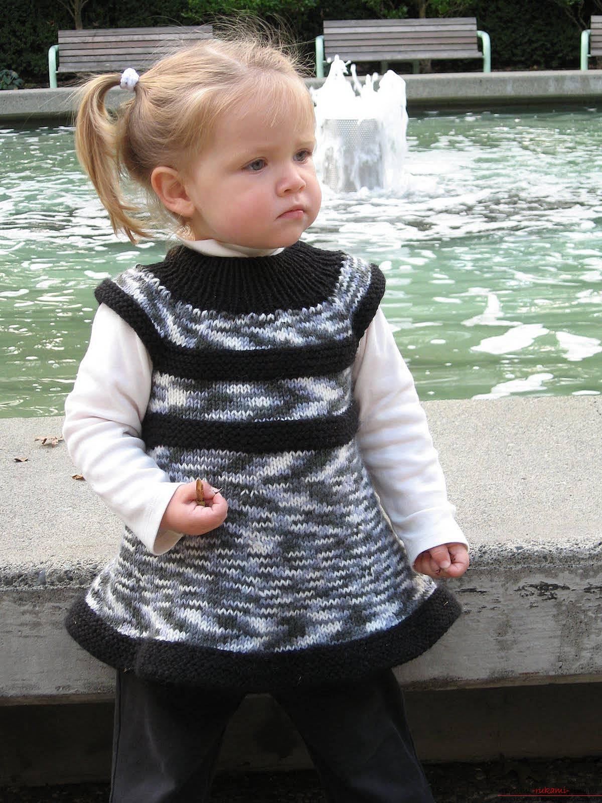 вязание крючком схема вязания платья снежинка для малышки