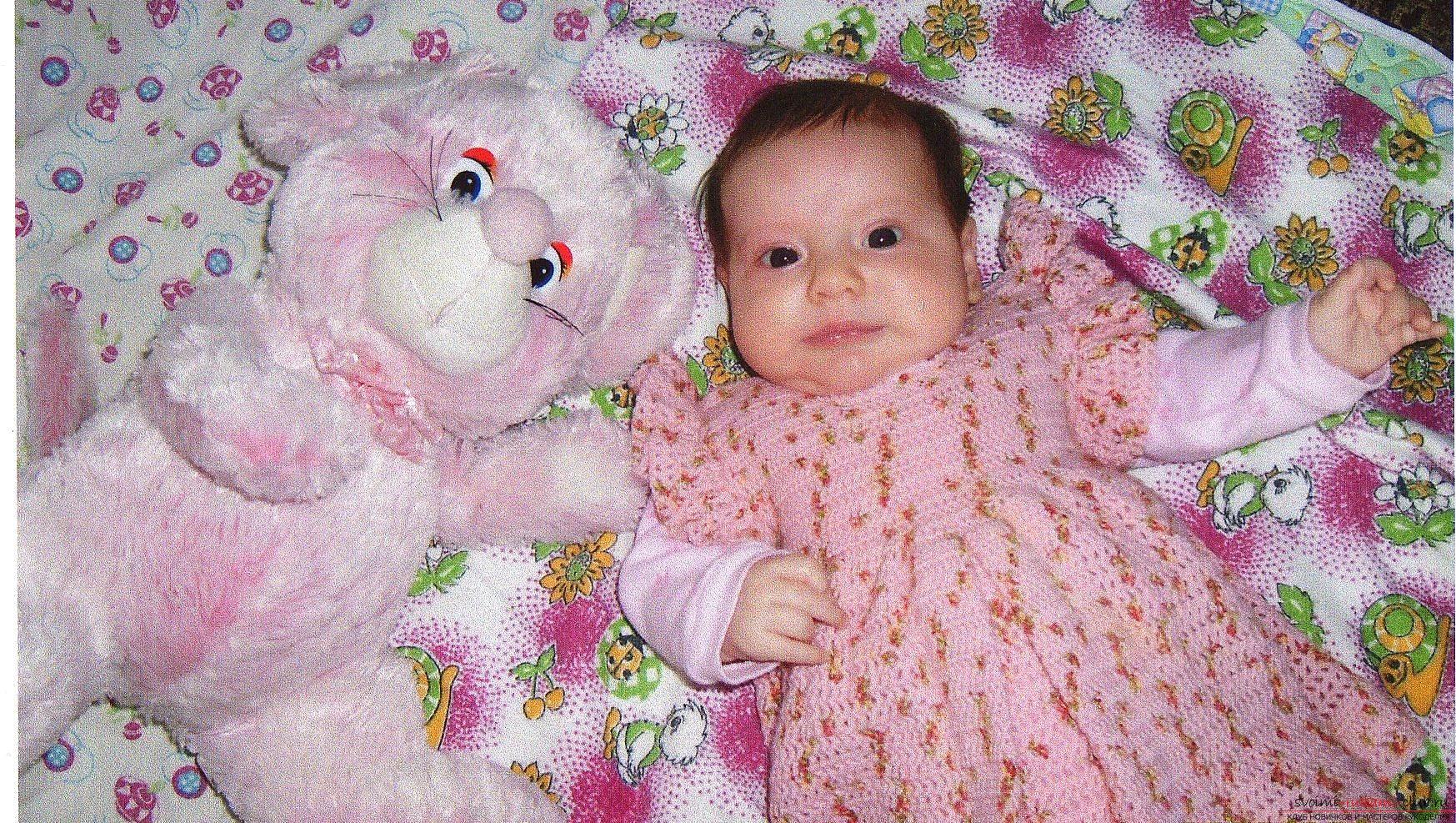 Как вязать сарафан на девочку 2-3 года