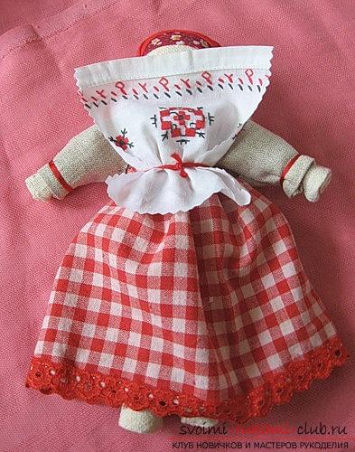 Оберег очистительная кукла - отличный способ защитить Ваш дом от непрошеных потусторонних сил
