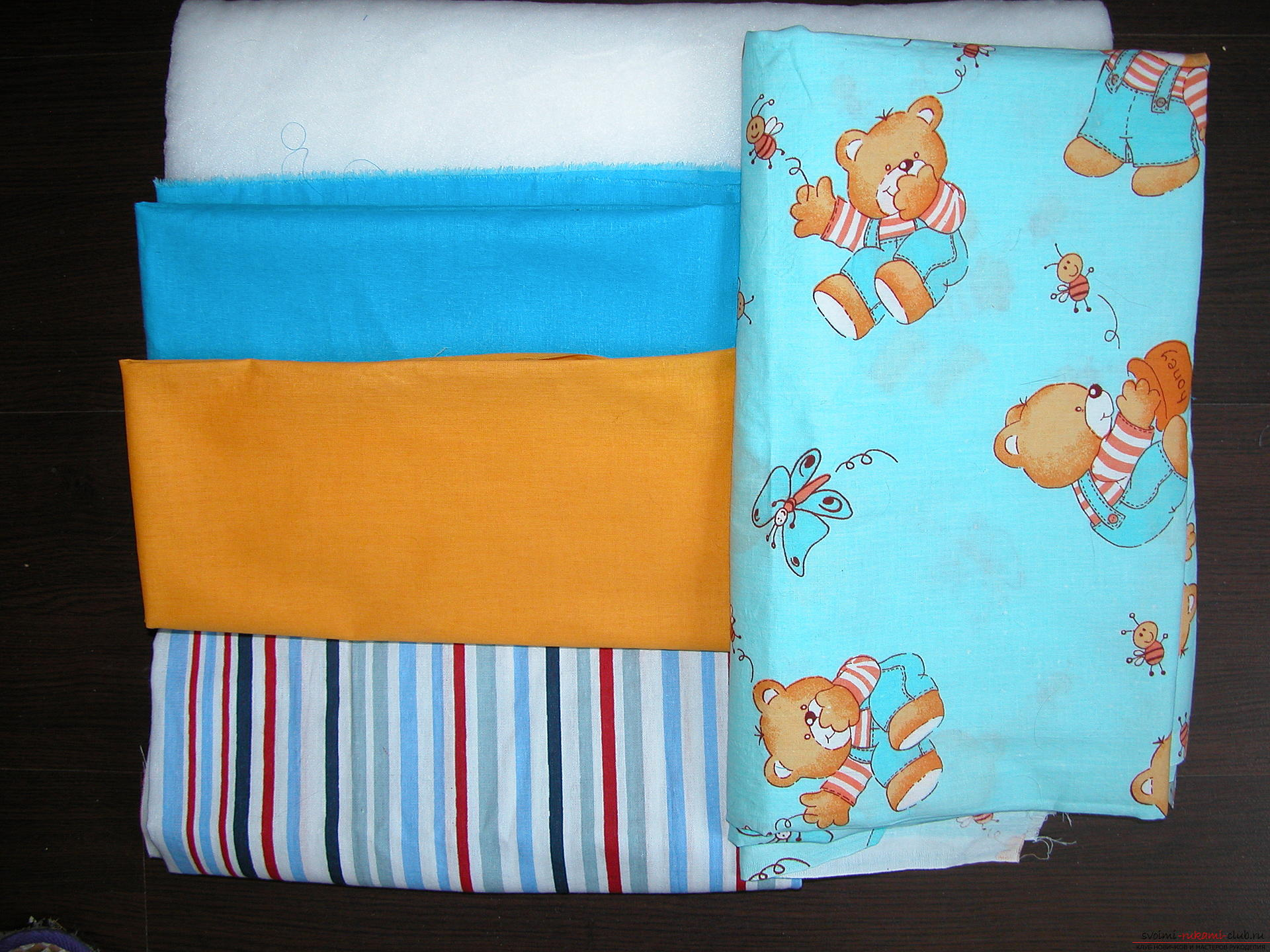 Подробный мастер класс по шитью детского лоскутного одеяла. Фото №2