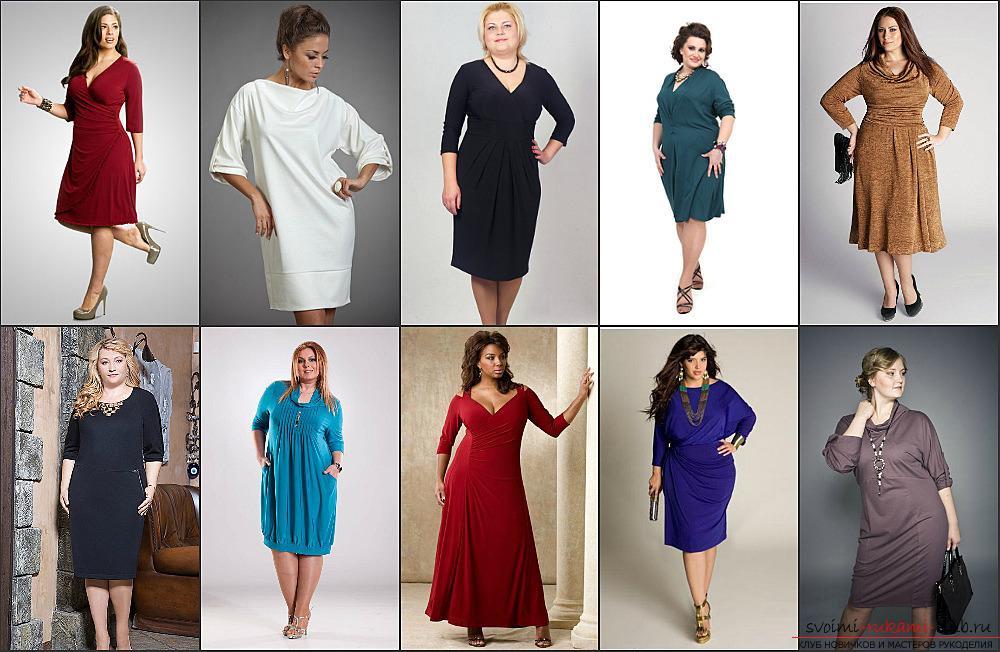 Пошив платья трикотажного
