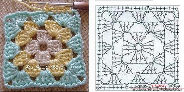 Схемы, фото и подробное описание, как связать коврики своими руками крючком.. Фото №2