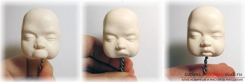 Мастер класс по лепке кукол из полимерной глины своими руками. Фото №23