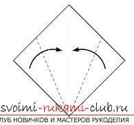 Создание поделок из бумаги своим руками в технике оригами для детей 5 лет.. Фото №36