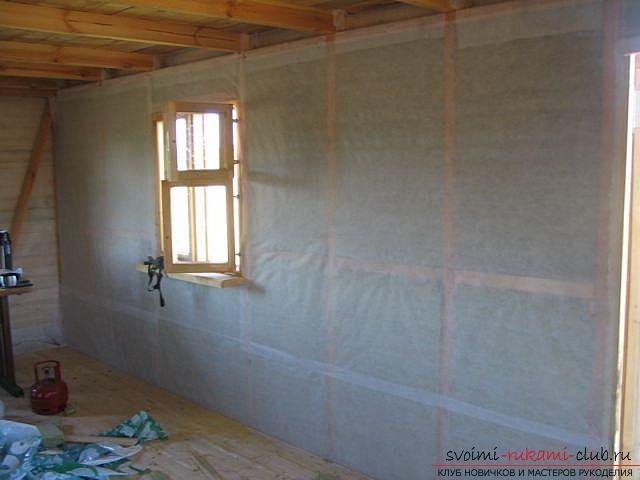 Пошагово шумоизоляция потолка