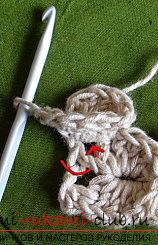 Как связать шаль крючком, мастер класс с фото и описанием, рекомендации по созданию шалей.. Фото №9