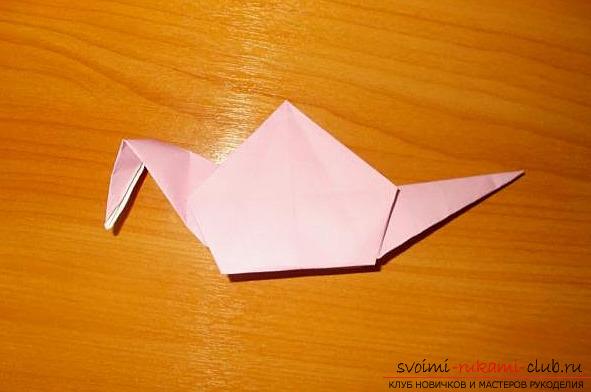 оригами-улиточке спираль