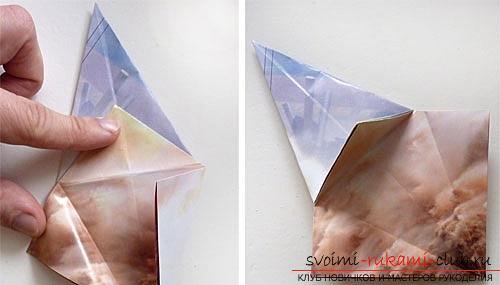 Как создать своими руками поделку в технике оригами для детей возрастом 9 лет.. Фото №18