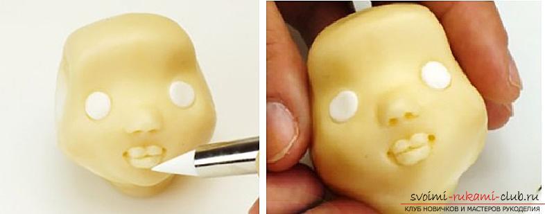 Мастер класс по лепке кукол из полимерной глины своими руками. Фото №3