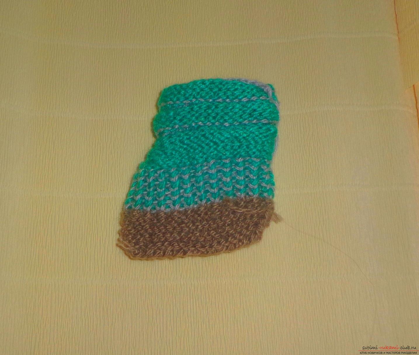Как связать носки на спицах по размеру