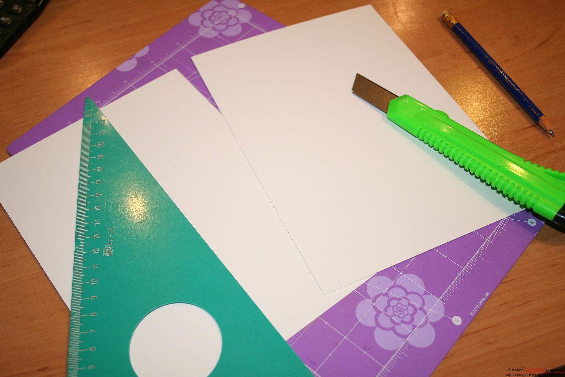 Этот мастер-класс научит как создать своими руками блокнот в технике скрапбукинг. Фото №3