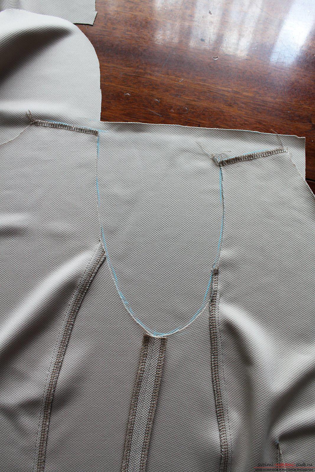 Этот подробный мастер-класс с фото и выкройкой научит шитью своими руками блузки с баской.. Фото №8
