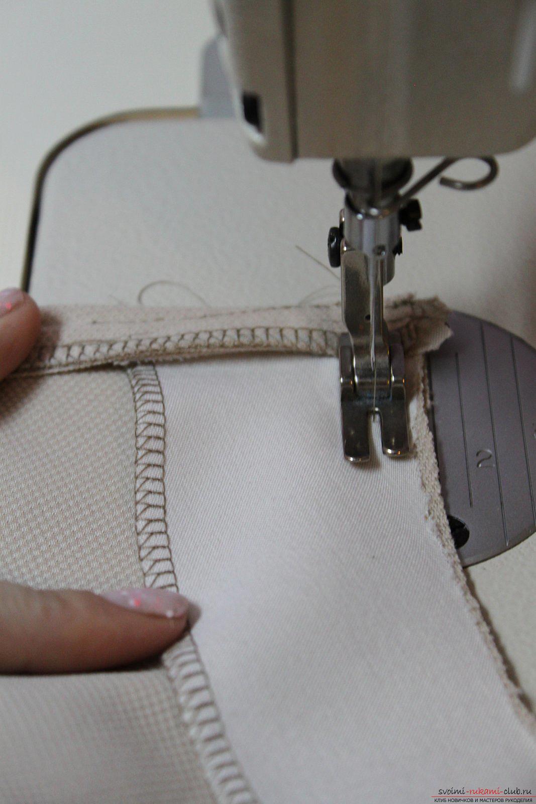 Этот подробный мастер-класс с фото и выкройкой научит шитью своими руками блузки с баской.. Фото №28