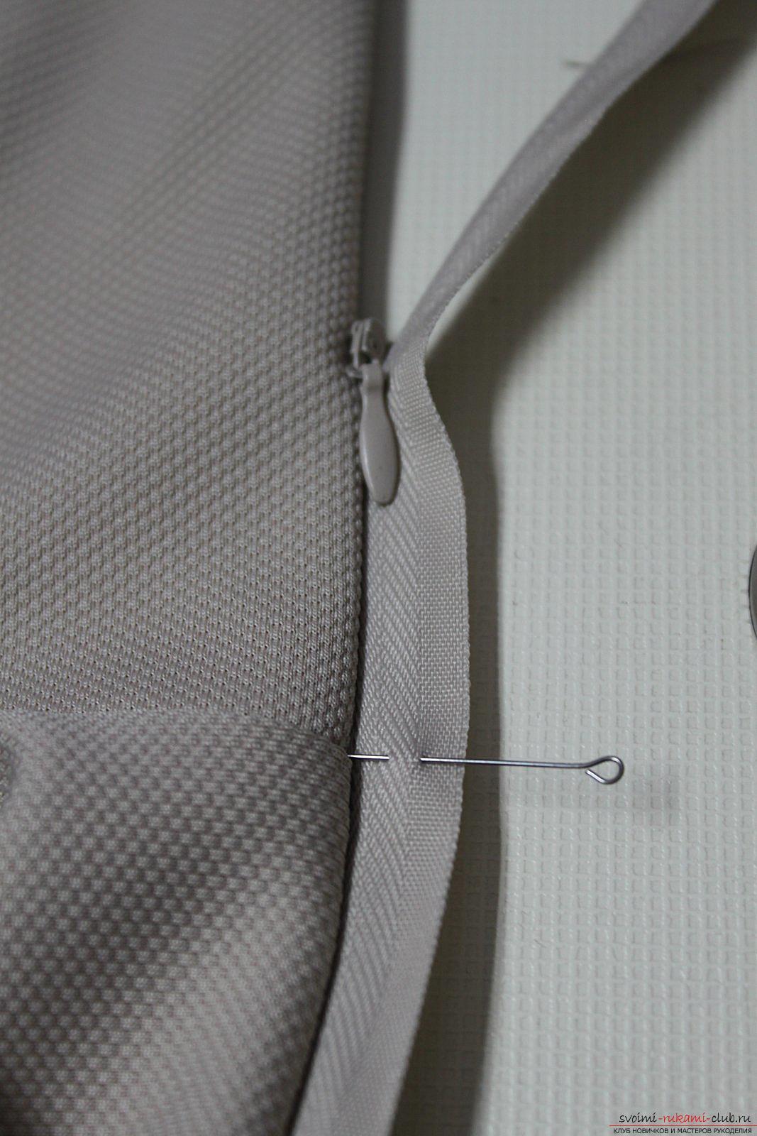 Этот подробный мастер-класс с фото и выкройкой научит шитью своими руками блузки с баской.. Фото №22