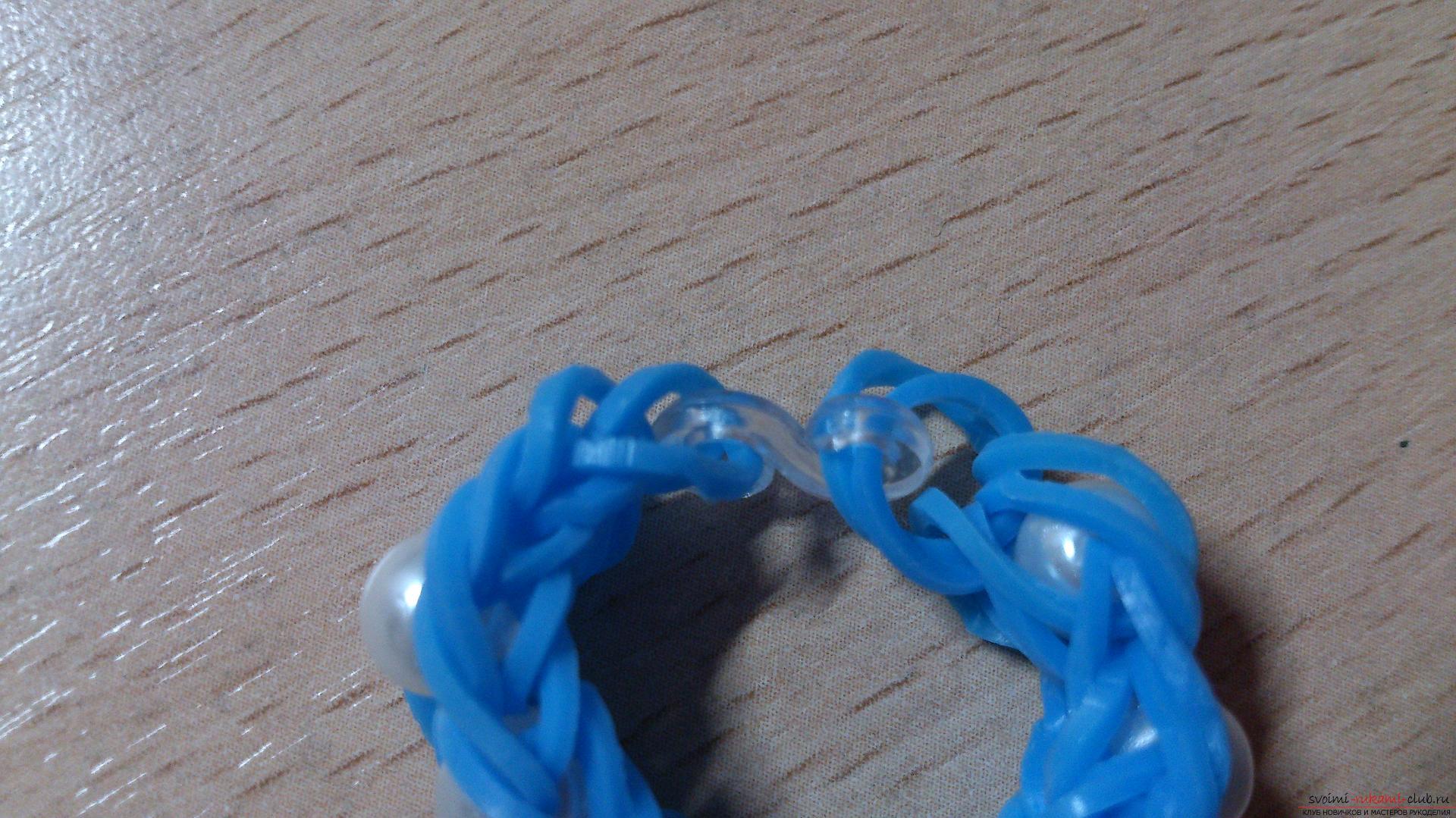 Красивые плетения браслетов из резинок на рогатке
