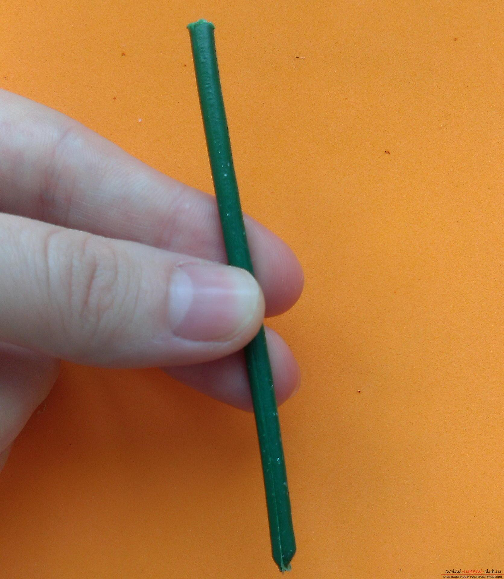 Этот мастер-класс расскажет как сделать брошь из георгиевской ленты с гвоздикой из фоамирана.. Фото №25