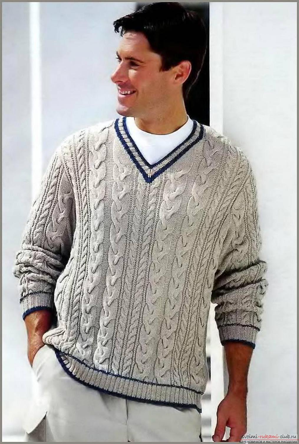 схема вязания свитер с машинкой