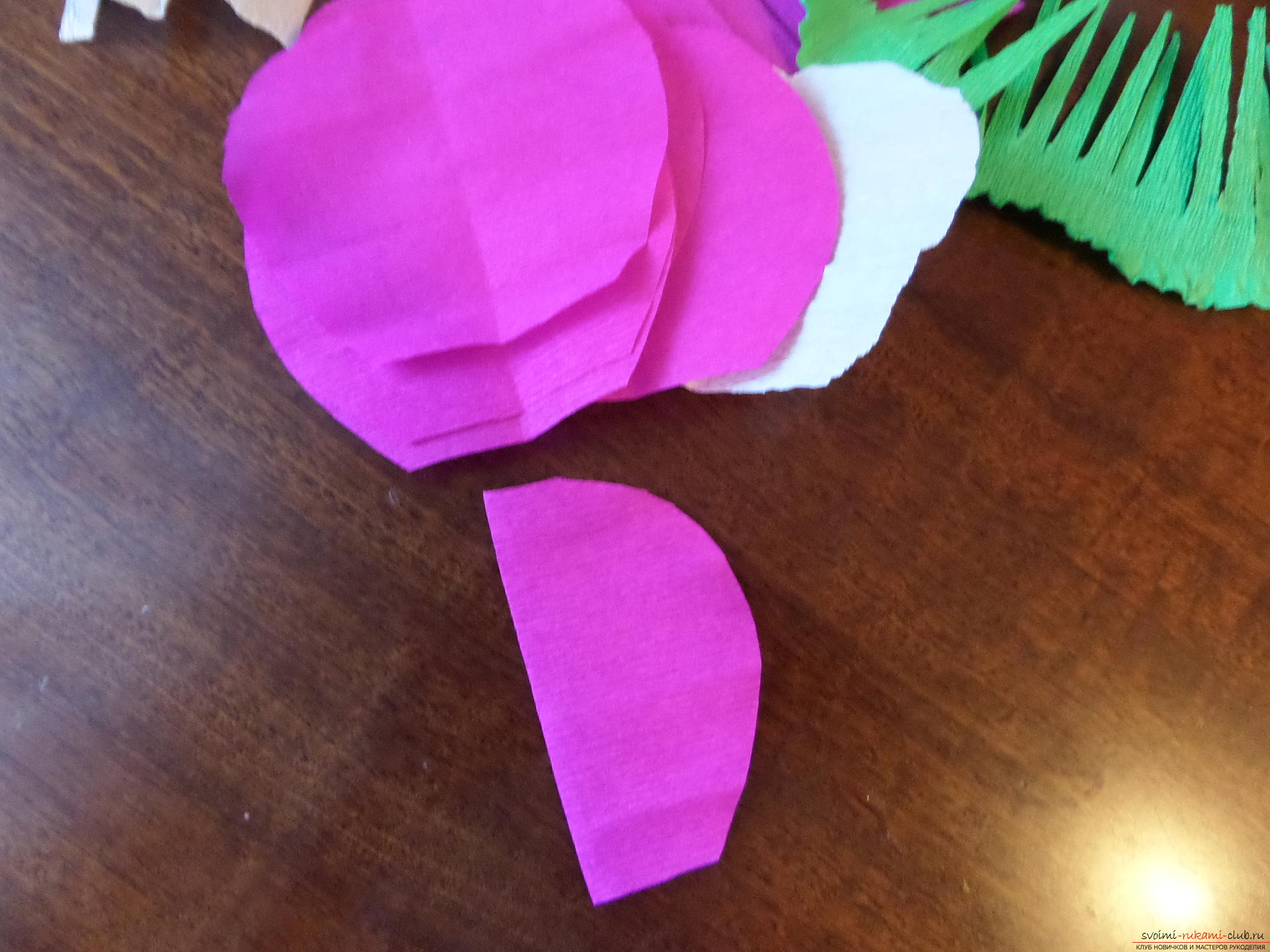 Как сделать цветы из бумаги - Академия 12