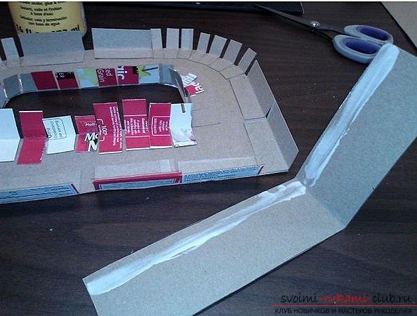 Как своими руками из картона сделать оригинальные декоративные буквы на любой праздник