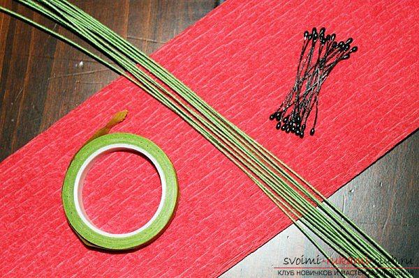 Изготовление букета бумажных маков своими руками с пошаговой инструкцией и фото